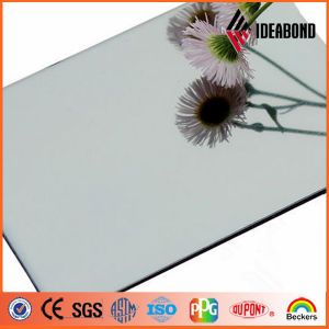 LDPE Core Material Flexible Plastic Silver Mirror Aluminum Composite Panels pictures & photos