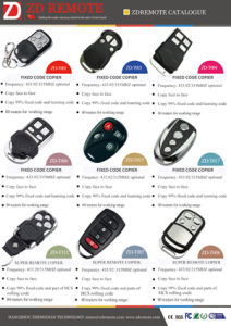 Universal 433 /315 Remote Control for Gate and Door pictures & photos