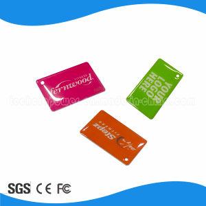 Customized Logo Tk4100 RFID Epoxy Key Tag pictures & photos