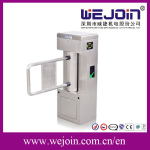 Automatic Swing Turnstile Gate with Access Control Mechanize Pedestrian Turnstile pictures & photos