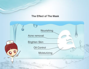 Zeal Smoothing and Whitening Ganodorma Lucidum Face Mask Chinese Herbal pictures & photos