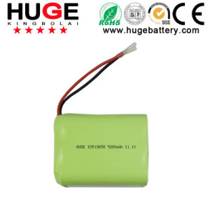 11.1V 5200mAh Huge Reahargeable Li-ion Battery Pack pictures & photos