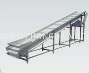 Stainless Steel Slope Conveyor of Chicken Abattoir Equipment pictures & photos