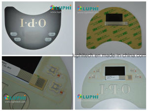 Embossed Buttons Membrane Switch Printed Circuit with LED Backlighting pictures & photos
