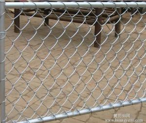 Hot Sale Galvanized Chain Link Fence for Factory pictures & photos