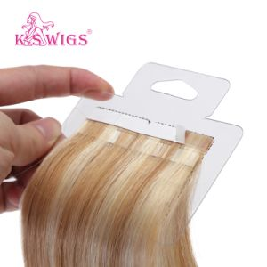 Discount Price High Quality 100% Human Hair Double Drawn Tape Hair Extensions pictures & photos