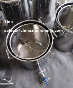 Stainless Steel Mash Tun with False Bottom 20L -2000L pictures & photos