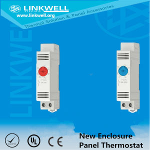 DIN Rail Mounting Compact Panel Thermostat pictures & photos