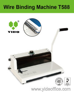 A4 Size Wire P3: 1 Binding Machine (T588) pictures & photos