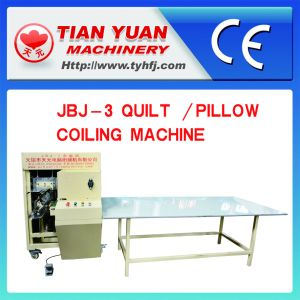 Quilt/Pillow Coiling and Rolling Machine pictures & photos