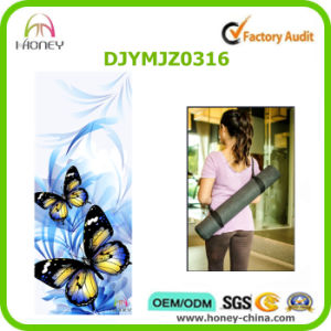 Butterfly Printed Yoga Mat Household Mat pictures & photos