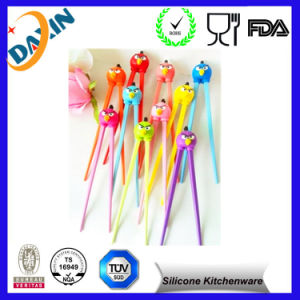 Customize Any Color Silicone Chopsticks pictures & photos