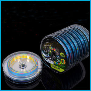 100m Super Strong 10PCS Connected Multicolor 8 Strand PE Fishing Line pictures & photos