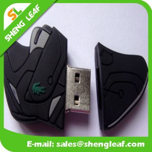 Promotional Gift Wholesale Custom Rubber Bracelet USB Flash Drive (SLF-RU015) pictures & photos