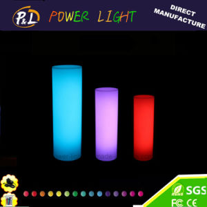 Waterproof Color Changing LED Pillar Lamp for Outdoor Decoration pictures & photos
