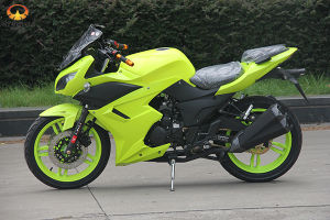 Fluorescent Green Racing Motorcycle with Option Available pictures & photos