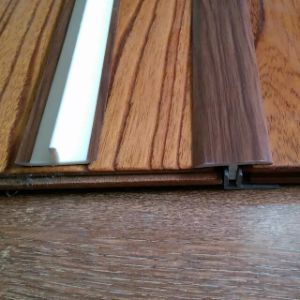 15mm Laminated Flooring T Moulding PVC Wearable Profiles pictures & photos