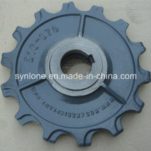 Customized Steel Sand Casting Parts with CNC Machining pictures & photos