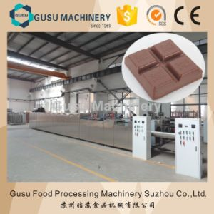 High Temperature Caramel Filled Chocolate Moulding Machine pictures & photos