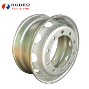 Tubeless Steel Wheel for Truck 9.75X22.5 pictures & photos