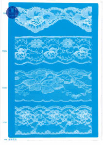 Non Elastic Lace for Clothing/Garment/Shoes/Bag/Case F212 (width: 1.4CMM to 24cm) pictures & photos