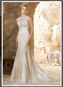 Mermaid Beaded Train Bridal Wedding Dresses Wd2789 pictures & photos