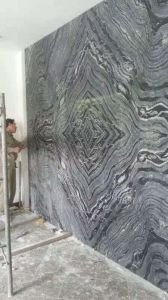 China Black Wooden Marble Stone/Covering/Flooring/Paving/Tiles/Slabs/Marble pictures & photos