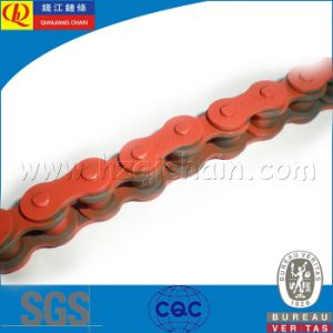 Motorcycle Transmission Chain with Orange420 pictures & photos