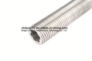 Stainless Steel Hollow Trapezoidal Thread Lead Screw pictures & photos