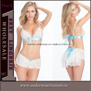 Wholesale Bra and Panty Sexy Lingerie Babydoll Ladies Underwear (2029) pictures & photos