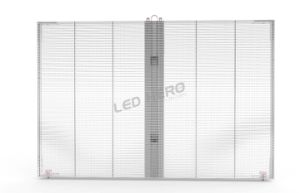 Transparent P15.625 LED Display for Building Advertising pictures & photos
