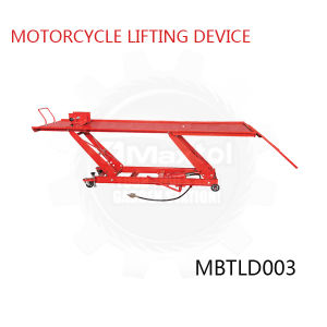 1000lbs Motorcycle Lifting Device with Hole Pneumatic Optional
