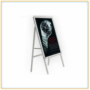 Pavement Single Sided Snap Frame Sign Board/Floor Poster Stand pictures & photos