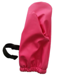 Red PU Rain Gloves for Baby/Child pictures & photos
