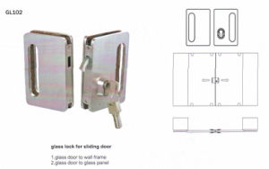 Gl102 Stainless Steel Gllass Lock pictures & photos