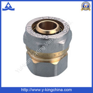 High Quality Brass Compression Fitting with Stope Ends (YD-6055) pictures & photos