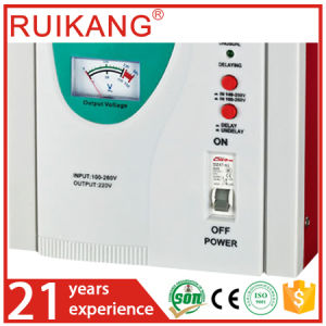 5kw AC Voltage Regulator for Home Appliances pictures & photos
