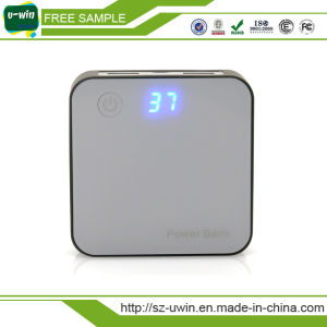 Portable Magic Cube Mini Power Bank 7800mAh with LED Indicator pictures & photos