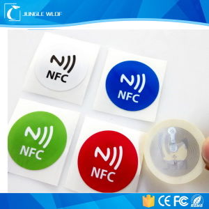 High Memory 30mm Small Round Ntag216 Nfc Tag pictures & photos