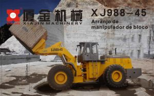Xj998-45 Multifunctional Pallet Fork Wheel Loader pictures & photos
