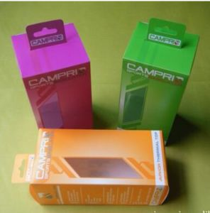 Color Plastic Box with Printing (HH 03) pictures & photos