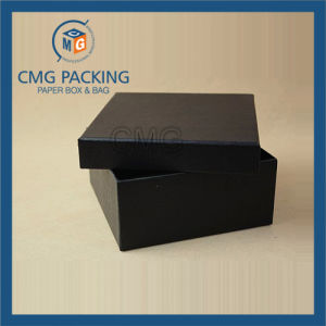 Black Luxury Jewelry Packing Box with Insert (CMG-PJB-099) pictures & photos