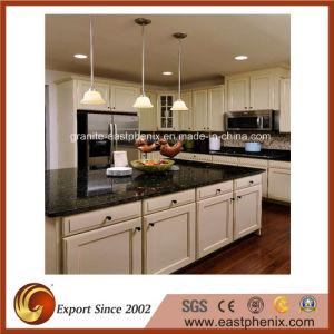 Natural Black Quartz Stone Kitchen Counter pictures & photos