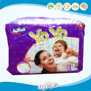 Super Absorbent Fluff Pulp Cloth Baby Diaper pictures & photos