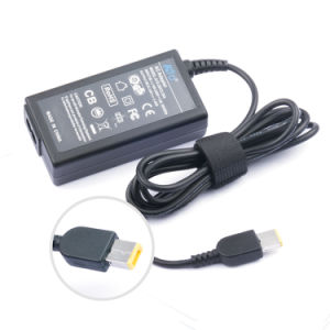 Yellow Square Tip 20V3.25A AC Adapter for Lenovo pictures & photos