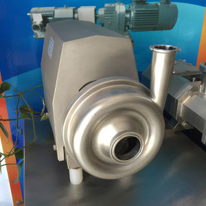 5 Tons 1.5kw Stainless Steel Sanitary Centrifugal Pump pictures & photos