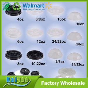 Wholesale Custom PS or Pet Flat Lid, Pet Dome Lid pictures & photos