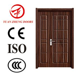 China Fir Wood Door Good Quality PVC Wooden Door pictures & photos