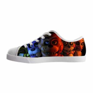 Cute Cartoon Printed Designs for Kids Shoes Promotional Spring/Summer Sneakers pictures & photos