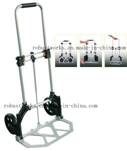Foldable Aluminium Hand Truck (HT022-1) pictures & photos